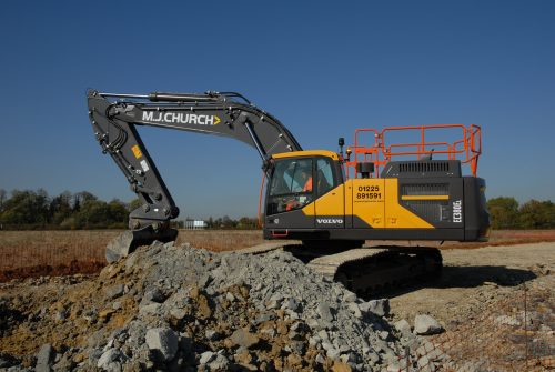 New MJ Church Excavator 3